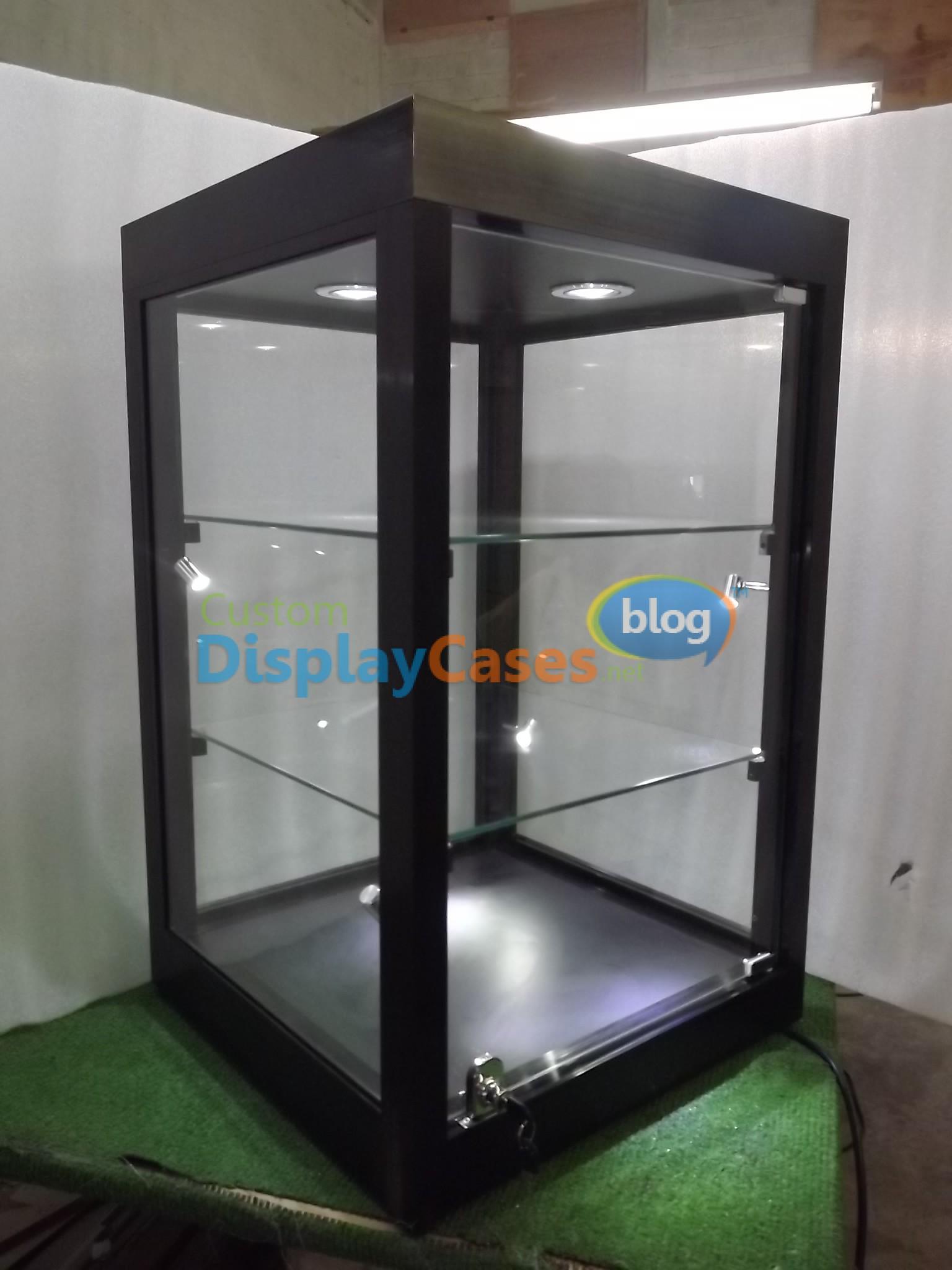 Counter top display cases florida custom display cases - Custom display cabinets ...