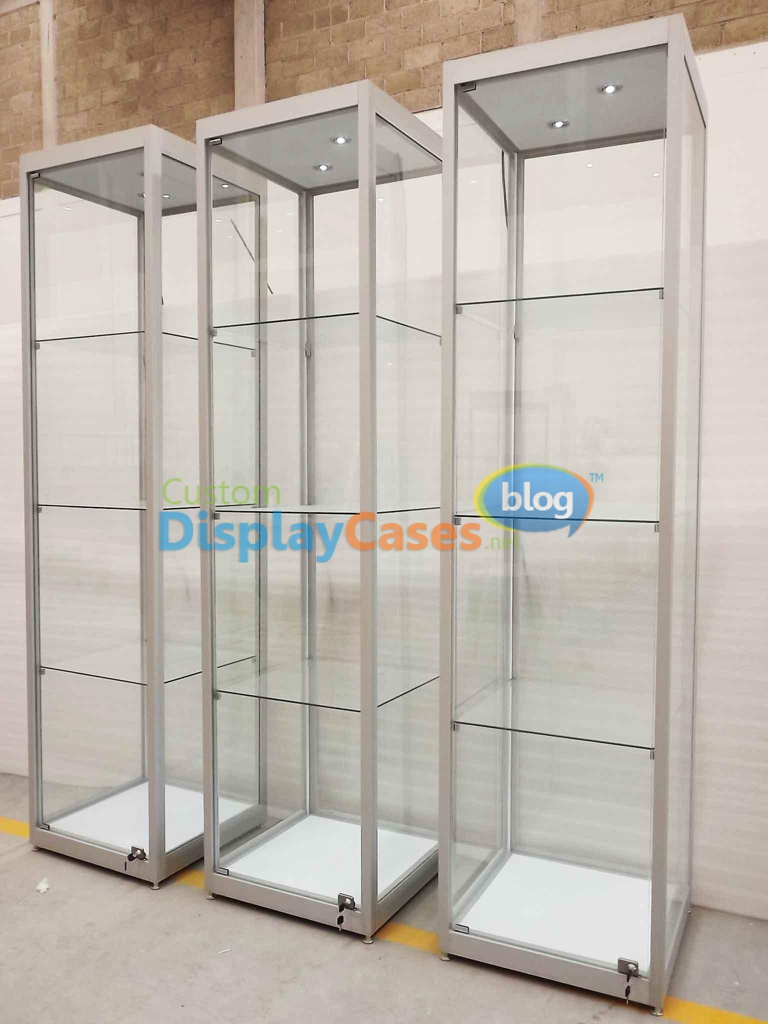Tower display cases custom made custom display cases blog - Custom display cabinets ...