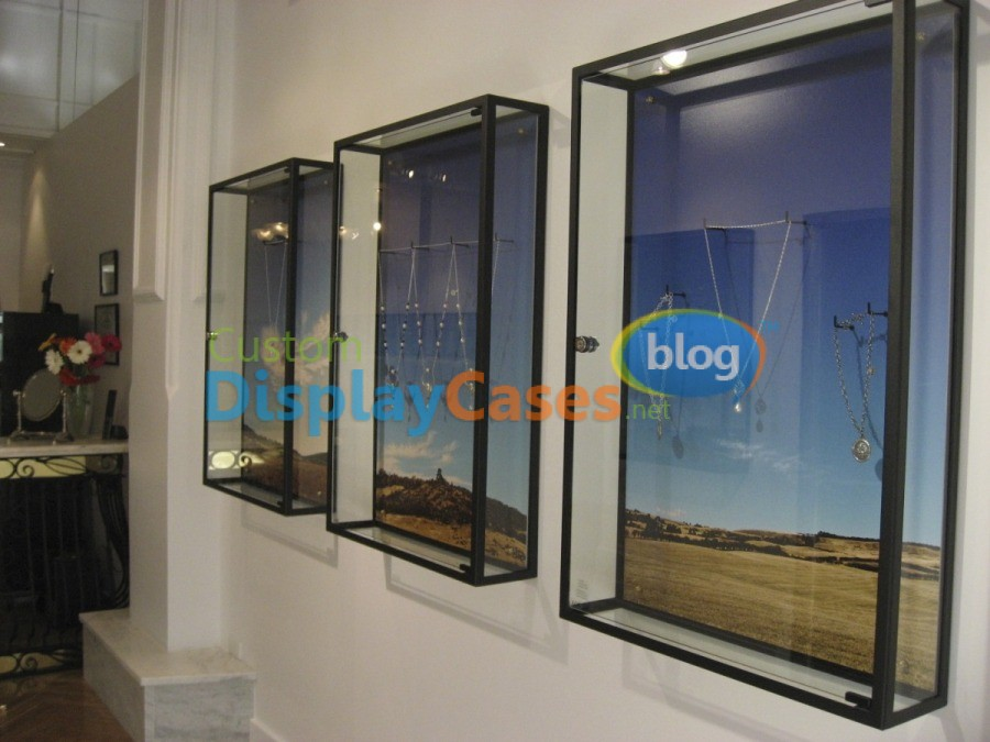 Wall Mounted Display Cases Made In The Usa Custom