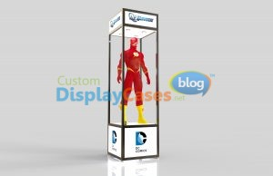 Glass Manneguin Display Cabinets